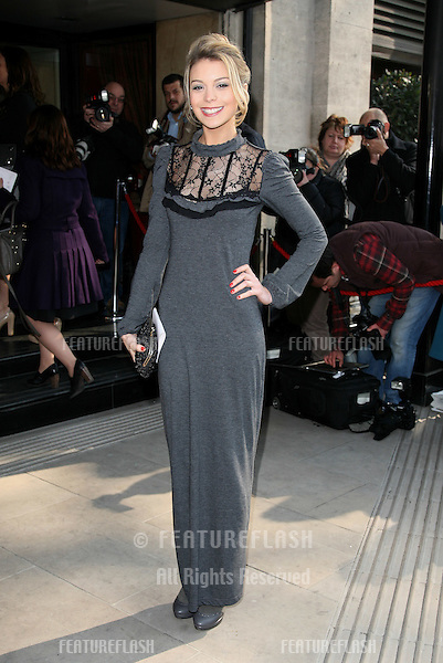 Kylie Babbington attending The TRIC Awards at The Grosvenor House Hotel, London. 08/03/2011 Picture by: Alexandra Glen / Featureflash