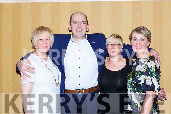 Lorraine O'Shea, Pat O'sullivan, Ann Sugrue and Mary Coffey at the KIllarney Community College class of 1988 celebrated their 30th anniversary reunion in the Killarney Avenue Hotel on Saturday night