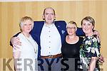 Lorraine O'Shea, Pat O'sullivan, Ann Sugrue and Mary Coffey at the KIllarney Community College class of 1988 celebrated their 30th anniversary reunion in the Killarney Avenue Hotel on Saturday night