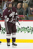 Tylor Spink (Colgate - 18) - The Harvard University Crimson defeated the visiting Colgate University Raiders 7-4 (EN) on Saturday, February 20, 2016, at Bright-Landry Hockey Center in Boston, Massachusetts,