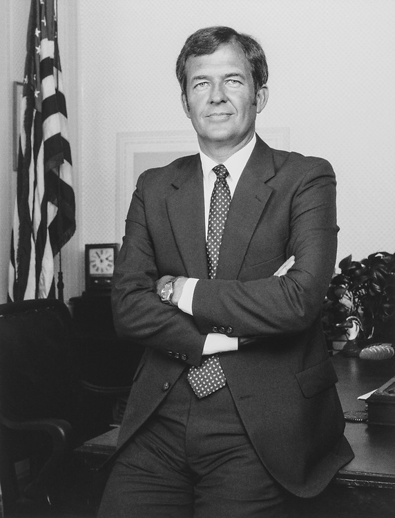 Portrait of Rep. Richard H. Stallings, D-Idaho, in 1985. (Photo by CQ Roll Call)