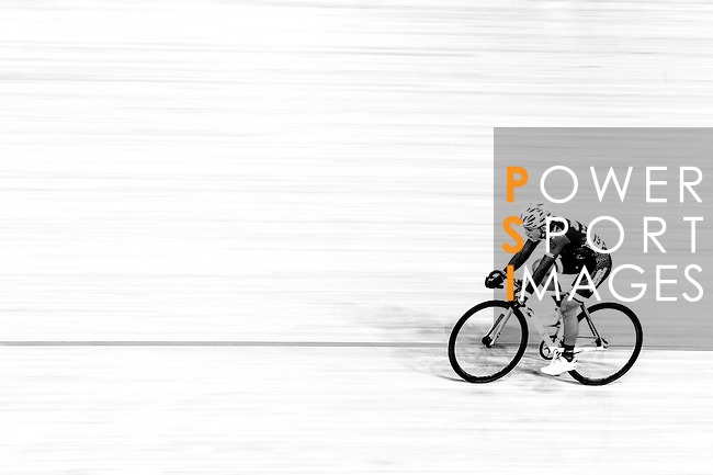 Chan Chi Long of team X SPEED during the Indiviual Pursuit Youth Qualifying (3KM) Track Cycling Race 2016-17 Series 3 at the Hong Kong Velodrome on February 4, 2017 in Hong Kong, China. Photo by Marcio Rodrigo Machado / Power Sport Images