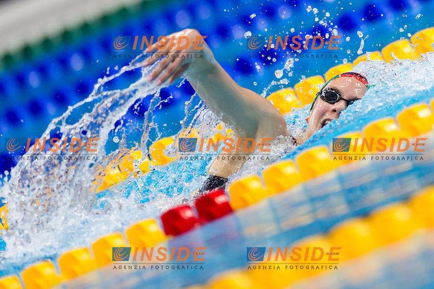 KAPAS Boglarka HUN gold medal<br /> London, Queen Elizabeth II Olympic Park Pool <br /> LEN 2016 European Aquatics Elite Championships <br /> Swimming<br /> Women's 800m freestyle final  <br /> Day 11 19-05-2016<br /> Photo Giorgio Perottino/Deepbluemedia/Insidefoto