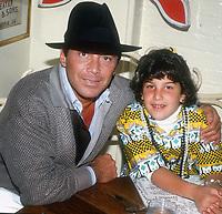 #PaulAnka and daughter 1984<br /> Photo by John Barrett/PHOTOlink.net