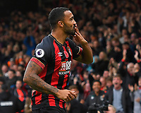 Callum Wilson of AFC Bournemouth celebrates his goal during AFC Bournemouth vs Manchester United, Premier League Football at the Vitality Stadium on 3rd November 2018