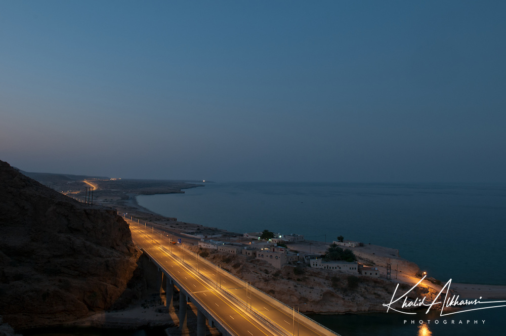 The new Muscat-Sur highway