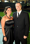 Mandi and Jason Howard at the Astros Wives' Gala at Minute Maid Park Thursday Aug. 16, 2012.(Dave Rossman/For the Chronicle)