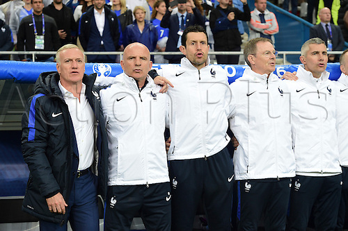 03.07.2016. St Denis, Paris, France. UEFA EURO 2016 quarter final match between France and Iceland at the Stade de France in Saint-Denis, France, 03 July 2016. Didier Deschamps (France) - <br />