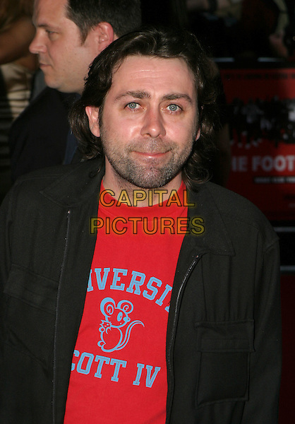 SEAN HUGHES.The Football Factory - UK Charity Film Premiere, Odeon, West End, London, WC2.May 10th, 2004.headshot, portrait, stubble.www.capitalpictures.com.sales@capitalpictures.com.© Capital Pictures..