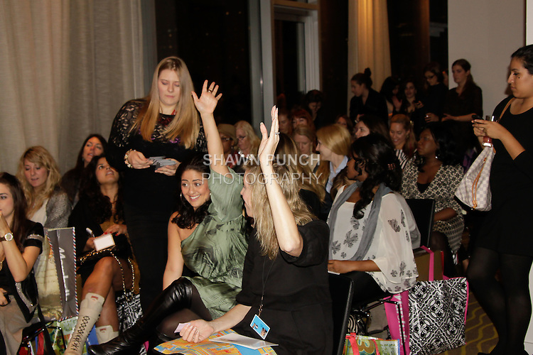 Image from the Accessorize for the Holidays 2011 event, hosted by Psquared Productions, at INK48, on October 19, 2011.