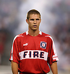 11 July 2004: Logan Pause. The Chicago Fire tied the New England Revolution 1-1 at Soldier Field in Chicago, IL during a regular season Major League Soccer game..