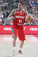 Mexico's David Meza during 2014 FIBA Basketball World Cup Round of 16 match.September 6,2014.(ALTERPHOTOS/Acero)