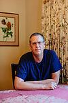 Kevin Drum photographed in his home in Irvine, California October 20, 2015.