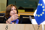 BRUSSELS - BELGIUM - 16 November 2012 -- European Training Foundation (ETF) conference on - Towards excellence in entrepreneurship and enterprise skills. -- Plenary: Issues from the clinics - Chair: Anastasia Fetsi, Head of Thematic Expertise Department, ETF. -- PHOTO: Juha ROININEN /  EUP-IMAGES.