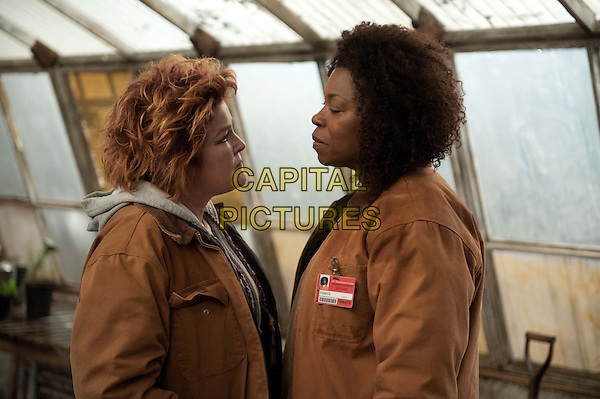 Kate Mulgrew and Lorraine Toussaint<br /> in Orange Is the New Black (2013&ndash; ) <br /> (Season 2)<br /> *Filmstill - Editorial Use Only*<br /> CAP/NFS<br /> Image supplied by Netflix/Capital Pictures