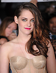 Kristen Stewart attends The world premiere of Summit Entertainment's THE TWILIGHT SAGA: BREAKING DAWN -PART 2 held at  Nokia Theater at L.A. Live in Los Angeles, California on November 12,2012                                                                               © 2012 DVS / Hollywood Press Agency