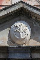 France, Pyrénées-Atlantiques (64), Pays-Basque, Saint-Jean-de-Luz :  La Maison de l'Infante , détail  // France, Pyrenees Atlantiques, Basque Country, Saint Jean de Luz: Infanta of Spain's House, retail