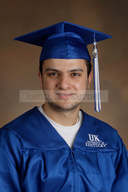 Habash, Khader photographed during the Feb/Mar, 2013, Grad Salute in Lexington, Ky.