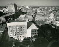 1961 December 8..Redevelopment.Downtown North (R-8)..Downtown Progress..North View from VNB Building..HAYCOX PHOTORAMIC INC..NEG# C-61-5-98.NRHA#..