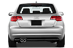 Straight rear view of a 2003 - 2012 Audi A3 Premium Sportback Hatchback.