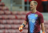 Burnley's Joe Hart during the pre-match warm-up <br /> <br /> Photographer Kevin Barnes/CameraSport<br /> <br /> The Premier League - Southampton v Burnley - Sunday August 12th 2018 - St Mary's Stadium - Southampton<br /> <br /> World Copyright &copy; 2018 CameraSport. All rights reserved. 43 Linden Ave. Countesthorpe. Leicester. England. LE8 5PG - Tel: +44 (0) 116 277 4147 - admin@camerasport.com - www.camerasport.com