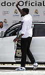 Maurice Ndour during the Audi Car delivery, at the basketball players of the Real Madrid. May 25,2016. (ALTERPHOTOS/Rodrigo Jimenez)