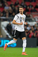 Sandro Wagner (1899 Hoffenheim) of Germany during the International Friendly match between England and Germany at Wembley Stadium, London, England on 10 November 2017. Photo by Andy Rowland.