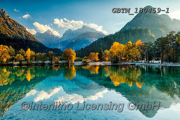 Tom Mackie, LANDSCAPES, LANDSCHAFTEN, PAISAJES, photos,+Europa, Europe, European, Jasna Lake, Slovenia, Tom Mackie, atmosphere, atmospheric, autumn, autumnal, destination, destinati+ons, dramatic outdoors, fall, horizontal, horizontals, landscape, landscapes, mirror image,mood, moody, mountain, mountainous+mountains, peace, peaceful, reflect, reflecting, reflection, reflections, scenery, scenic, serene, serenity, tourist attract+ion, tranquil, tranquility, travel, water, water's edge, waterfall, waterfalls,Europa, Europe, European, Jasna Lake, Sloveni+,GBTM180459-1,#l#, EVERYDAY