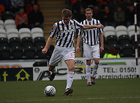 David van Zanten in the St Mirren v Dundee United Clydesdale Bank Scottish Premier League match played at St Mirren Park, Paisley on 27.10.12.