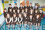 Pupils from Margaret Daly class on their first day of school in Lissivigeen NS Killarney who started school on Monday front row l-r: Mia Lucey, Maggie May O'Donoghue, Eva Stack, Melissa McCarthy, Leah Sheehan, Sarah Griffin. Middle row: Cillian O'Sullivan, Tymon Solak, Oisin Butler, Ethan Hewerdine, Maja Chmielewska, Mischa McCarthy, Lucy O'Connor, Lucas O'Leary, Cormac Healy. Back row: Timothy Ryan, Conor O'Sullivan, Jack O'Connor, Joey McCarthy, Nathan Cronin and Sean Kiely ..