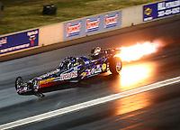 Jul 23, 2016; Morrison, CO, USA; NHRA jet car driver Tony Franco Jr during qualifying for the Mile High Nationals at Bandimere Speedway. Mandatory Credit: Mark J. Rebilas-USA TODAY Sports