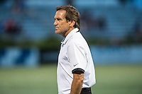 Allston, MA - Wednesday Aug. 31, 2016: Randy Waldrum prior to a regular season National Women's Soccer League (NWSL) match between the Boston Breakers and the Houston Dash at Jordan Field.