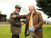 XXjob 13-05-2014  (NEWS) : Cllr Donal Grady, right,  talking to Joe Bourke on the campaign trail in Ballyspillane estate, Killarney. Picture: Eamonn Keogh (MacMonagle, Killarney)