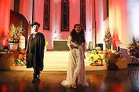 """Alexa Rockstroh und Tobias Stein bei """"Phantom der Oper"""" - Gross-Gerau 01.10.2016: Musical Benefizshow für BIA Foundation für Kinder in Nepal in der Groß-Gerauer Stadtkirche"""