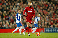 Fabinho of Liverpool in action during the UEFA Champions League Quarter Final first leg match between Liverpool and Porto at Anfield on April 9th 2019 in Liverpool, England. (Photo by Daniel Chesterton/phcimages.com)<br /> Foto PHC/Insidefoto <br /> ITALY ONLY