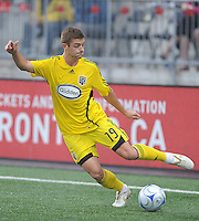 Robbie Rogers (19) in action at  BMO Field on Saturday September 13, 2008. .The game ended in a 1-1 draw.