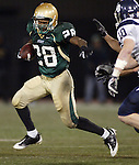 Jesuit senior running back Anthony Blake runs by Lake Oswego defenders in the semifinals at PGE Park November 28, 2008.