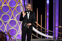 Presenter Steve Carell onstage during the 76th Annual Golden Globe Awards at the Beverly Hilton in Beverly Hills, CA on Sunday, January 6, 2019.<br /> *Editorial Use Only*<br /> CAP/PLF/HFPA<br /> Image supplied by Capital Pictures