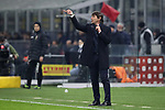 Antonio Conte Head coach of Inter gives directions to his players during the Coppa Italia match at Giuseppe Meazza, Milan. Picture date: 14th January 2020. Picture credit should read: Jonathan Moscrop/Sportimage