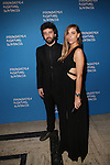 Artist Roy Nachum and Maia Nachum Director of SoHo-based Studio Iyor attend the Foundation Fighting Blindness World Gala Held at Cipriani downtown located at 25 Broadway