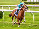 JUNE 29, 2019 :  UNI (GB) with Joel Rosario, wins the  Perfect Sting Stakes, at Belmont Park, in Elmont, NY, June 29, 2019.  Sue Kawczynski_ESW_CSM