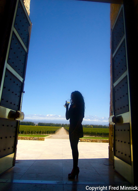 Jimena Turner is the director of marketing for Catena Zapata.<br /> <br /> Scenes from around the Catena Zapata vineyard in Mendoza, Argentina. This is where the Argentina Malbec wine became famous.