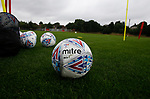 League ball during the training session at the Shirecliffe Training complex, Sheffield. Picture date: June 27th 2017. Pic credit should read: Simon Bellis/Sportimage