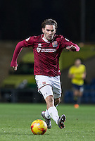 Ricky Holmes of Northampton Town in action during the Sky Bet League 2 match between Oxford United and Northampton Town at the Kassam Stadium, Oxford, England on 16 February 2016. Photo by Andy Rowland.