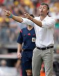FC Barcelona's coach Luis Enrique Martinez during La Liga match.September 13,2014. (ALTERPHOTOS/Acero)