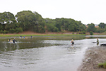 Earthwatchers Setting Net