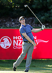 Sean Riordan of New Zealand during the Holden NZ PGA Championship, Round One, Remuera Golf Club, Remuera, Auckland, New Zealand. Friday 3 March 2016. Photo: Simon Watts/www.bwmedia.co.nz <br /> All images &copy; NZ PGA and BWMedia.co.nz