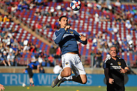 STANFORD, CA - JUNE 29: Zlatan Ibrahimovic #9 during a Major League Soccer (MLS) match between the San Jose Earthquakes and the LA Galaxy on June 29, 2019 at Stanford Stadium in Stanford, California.