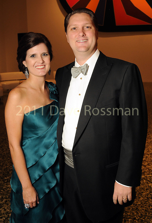 Heather and Chris Enright at the Museum of Fine Arts Houston 's 2010 Grand Gala Ball  Friday Oct. 01, 2010. (Dave Rossman/For the Chronicle)