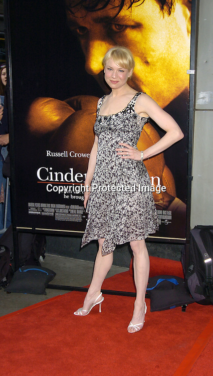 Renee Zellweger..at the New York Premiere of Cinderella Man to benefit The Children's Defense Fund on June 1, 2005 at The Loews Lincoln Square Theatre...Photo by Robin Platzer, Twin Images
